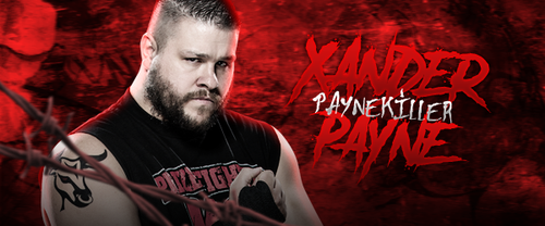 Xander Payne signature (e-fed character) by ArselGFX