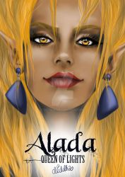 Alada the queen of Light by Diddha