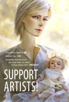 Support BJD Artists by Katyok