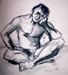 Life drawing session dec -09 F by jaderas