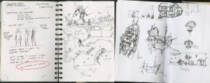 Sketchbook or Daybook 031 by hesir