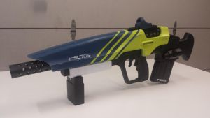Hawksaw Pulse Rifle Wip (still) by GS-PROPS