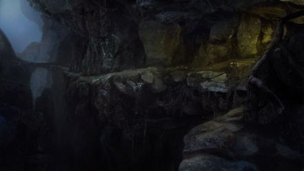 Deep cave by merl1ncz