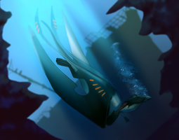 Going Under by Galidor-Dragon