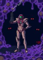 Metroid 1 Samus by Tyzilla33191