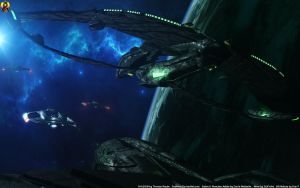 Romulan Encounter by Euderion