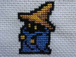 Black Mage FF1 by TeaBeeAdventures