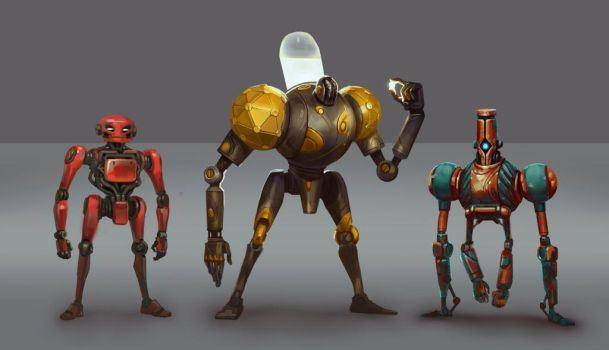 the Robots by Deviangread