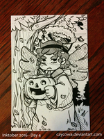 Inktober Day 4 - Supernatural by caycowa