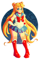 Sailor Moon by InuGurl107
