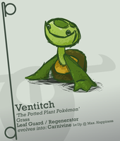 Ventitch - The Potted Plant Pokemon