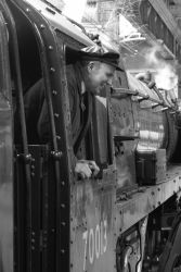 Steam Train Driver by Rentapest