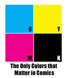 The Only Colors That Matter In Comics by Mauser712