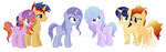 3 Sets Of Twins by Kaiimira