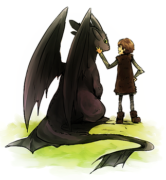HTTYD collab kinda by ryo-hakkai