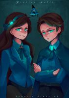 Reverse Pines by muchuan