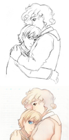 Armful of Leif -AI ver.- by ErinPtah