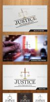 Justice Law Logo Template - Graphicriver by Changyik