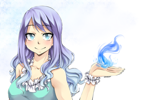 Juvia~ by Cocassion