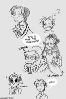 Cedric Sketches by MarionetteJ2X