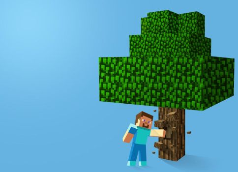 Minecraft Tree Punching by TFM4th