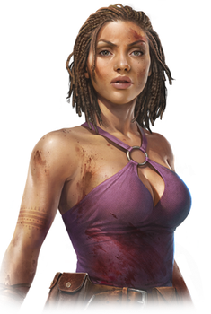 Dead Island Riptide - Purna by ClairexRedfieldxFan