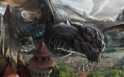 In the Shadow of the Dragon by LindseyBurcar