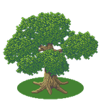 1. Try of a tree in pixelstyle - 300% by ChimaereJade