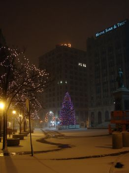 Monument Square, 4:23 AM by imagematters