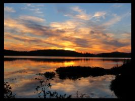 Saranac Sunset 1 by coldshadows