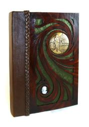 Fishermans Leather Journal by McGovernArts