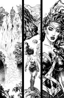Wonder Woman #1 pg.1 by LiamSharp
