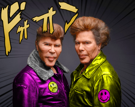 Bogdanoffs are just JoJo Characters by vtheawesoeme
