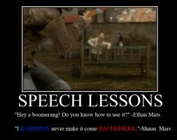 Speech Lesson's for Shaun by FluffyPocket
