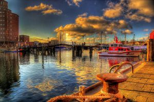 Spring at the habour by chevyhax