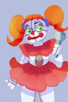 fnaf sister location baby by mikymichelle