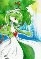 Ralts and Gardevoir