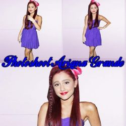 #2 Photoshoot Ariana Grande by SilvanaAgusTutos