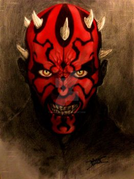 Darth Maul by WincatAlcala