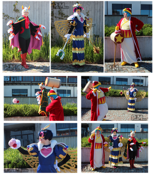 Kirby Triple Deluxe group cosplay by Possumato