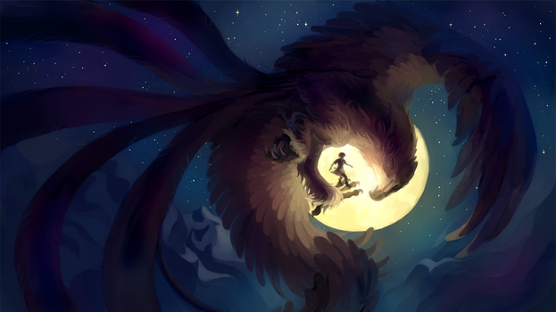 Catch the Moon by fancypigeon-arpg