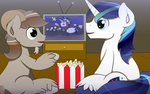The best movie night ever! by Coramino