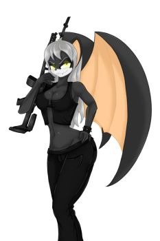 Bat commission. by bookxworm89