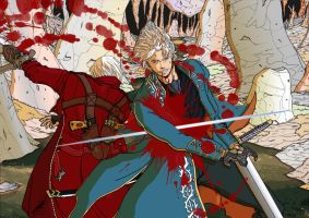 Let's finish this, Vergil by Yurius06