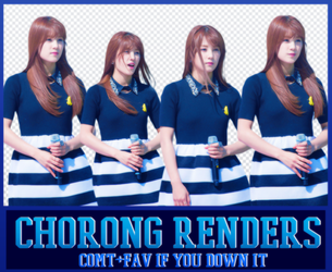 Chorong Render Pack by Know-chan