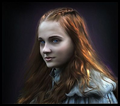 Sansa Stark (2) : Game of Thrones by RottonNymph