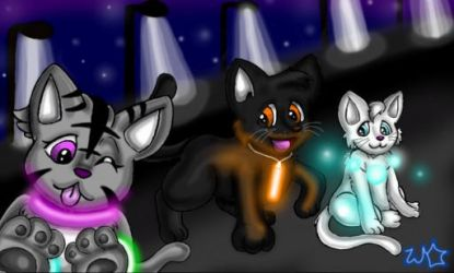 Cats of Light by StarbornKarissa