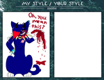 My style/Your style meme by ShadowTheLeader