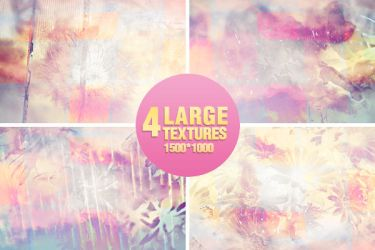 4 Large textures - 1500x1000 by Missesglass