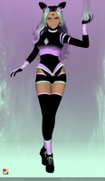 Sailor Senshi: Original Character Dark Pastel Neon by LaKiraRee